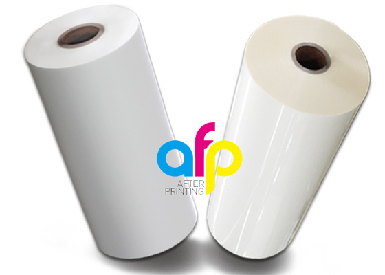 3 Inch Core Pressure Sensitive Laminating Film , Soft Pet Polyester Film